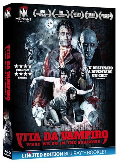 La copertina del Blu-Ray