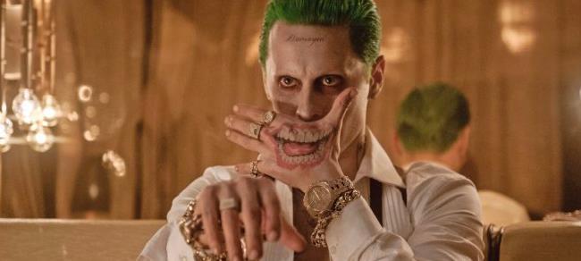 Jared Leto nei panni di Joker in Suicide Squad