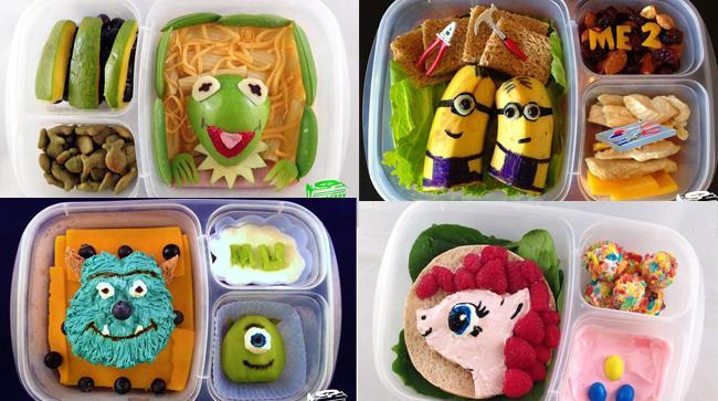 Lunchbox ideati dal papà più in gamba d'America