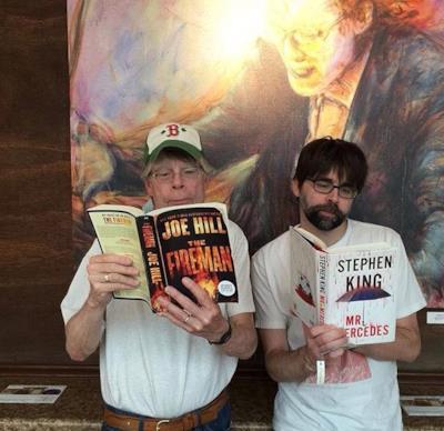Stephen King e suo figlio Joe Hill