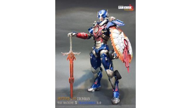 L'armatura di Iron Man ispirata ai Transformer
