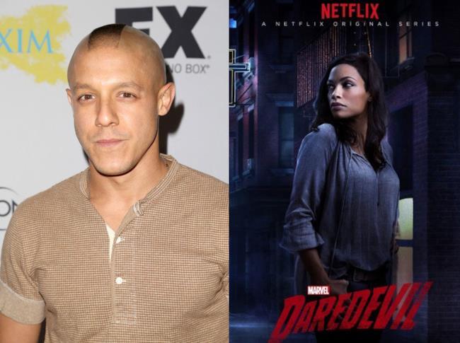 Theo Rossi e Rosario Dawson si uniranno al cast di Luke Cage