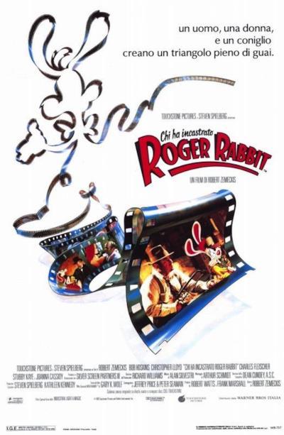 La locandina de Chi ha incastrato Roger Rabbit?