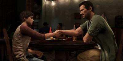 Nathan e Sully da giovani in Uncharted 3