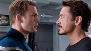 Steve Rogers e Tony Stark a confronto