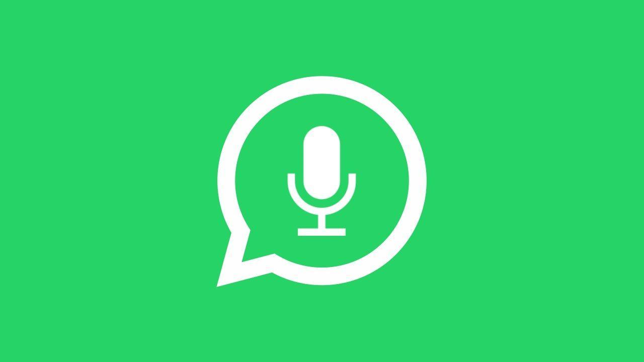 L'icona dei messaggi vocali di WhatsApp