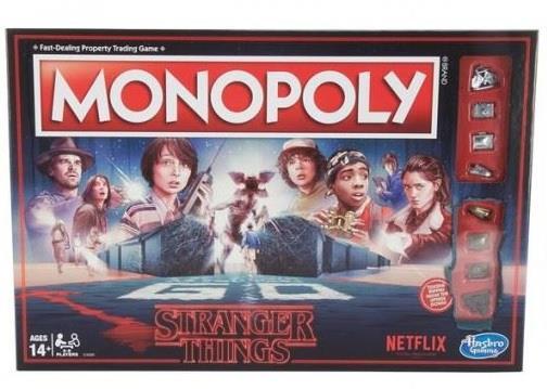 L'edizione del Monopoly dedicata a Stranger Things