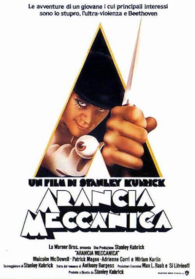 La locandina de Arancia Meccanica