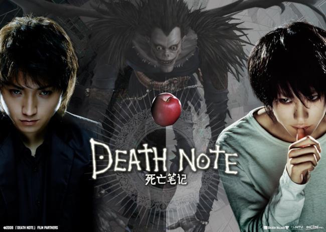 Poster dei film live-action di Death Note