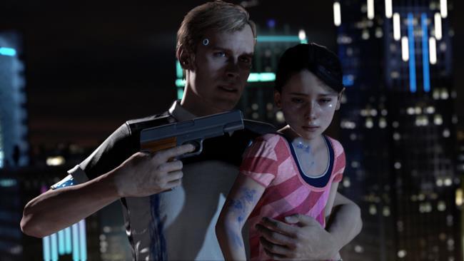 Daniel l'androide deviante impazzito di Detroit Become Human
