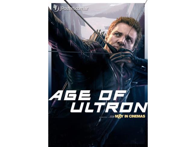 Age of Ultron Poster di Hawkeye