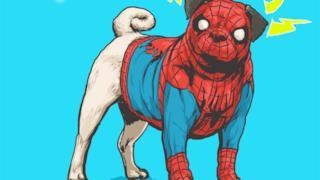 Spider-Man in versione canina
