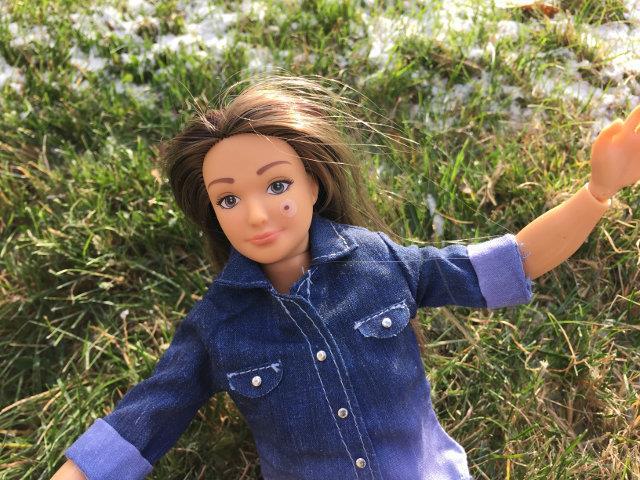 Lammily Doll, la bambola realista con un brufolo