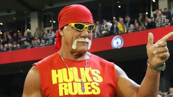 il wrestler Hulk Hogan