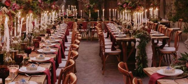 Matrimonio Tema Hollywood : A los angeles il primo matrimonio in stile harry potter