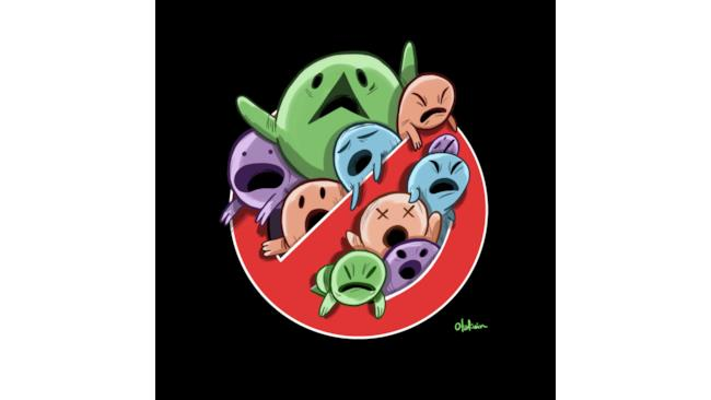 Il logo dei Ghostbusters reimmaginato da Oliver Akuin