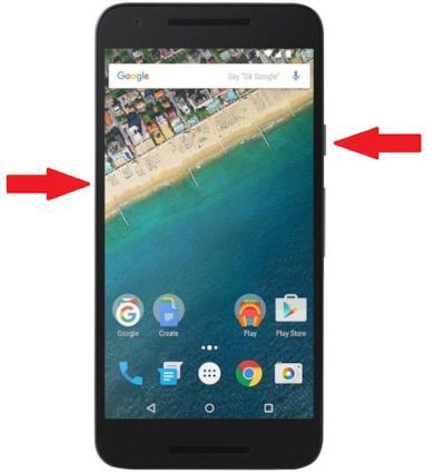 La combinazione di tasti per fare uno screenshot su telefoni android