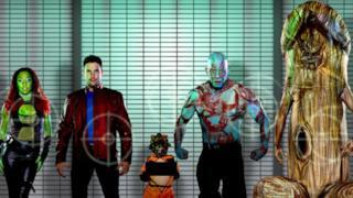 La parodia porno di Guardiani della Galassia