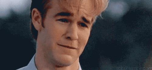 GIF Dawson pianto