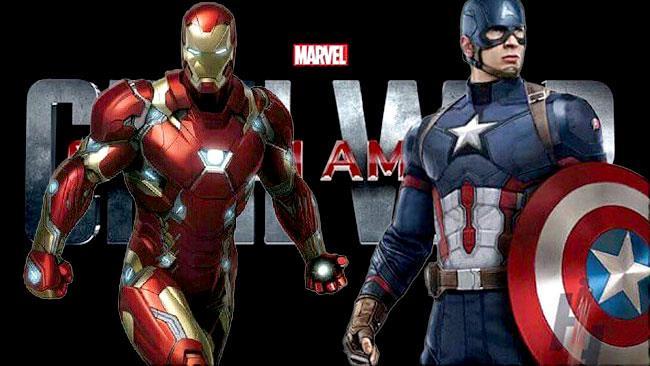 Un primo sguardo a Capitan America e Iron Man in Civil War