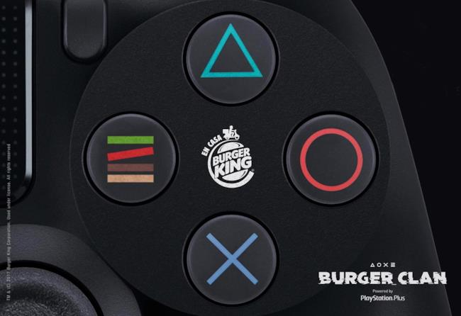 Il progetto di Burger King e PlayStation