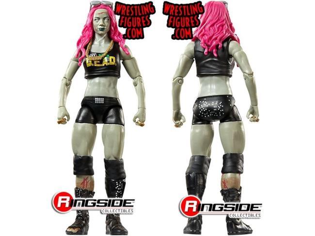 La riproduzione di Sasha Banks zombie