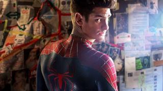 Andrew Garfield nel ruolo di Spider-Man
