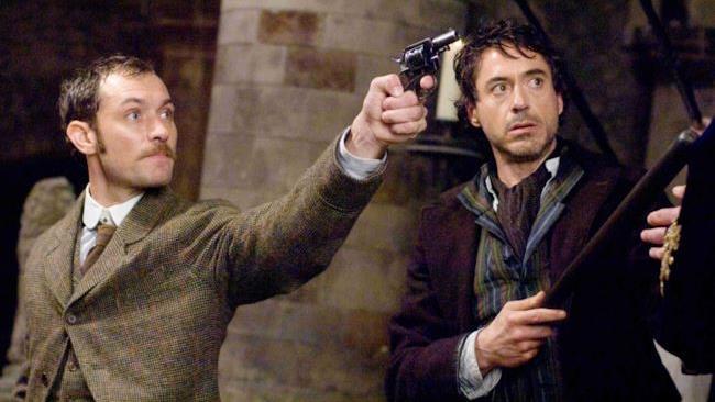 Robert Downey Jr. e Jude Law