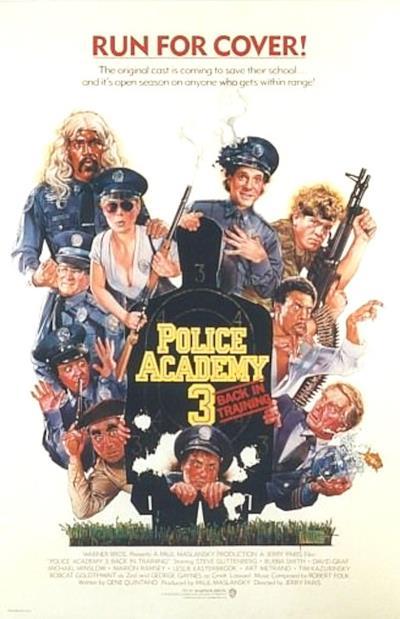 La locandina de Scuola di polizia 3: tutto da rifare