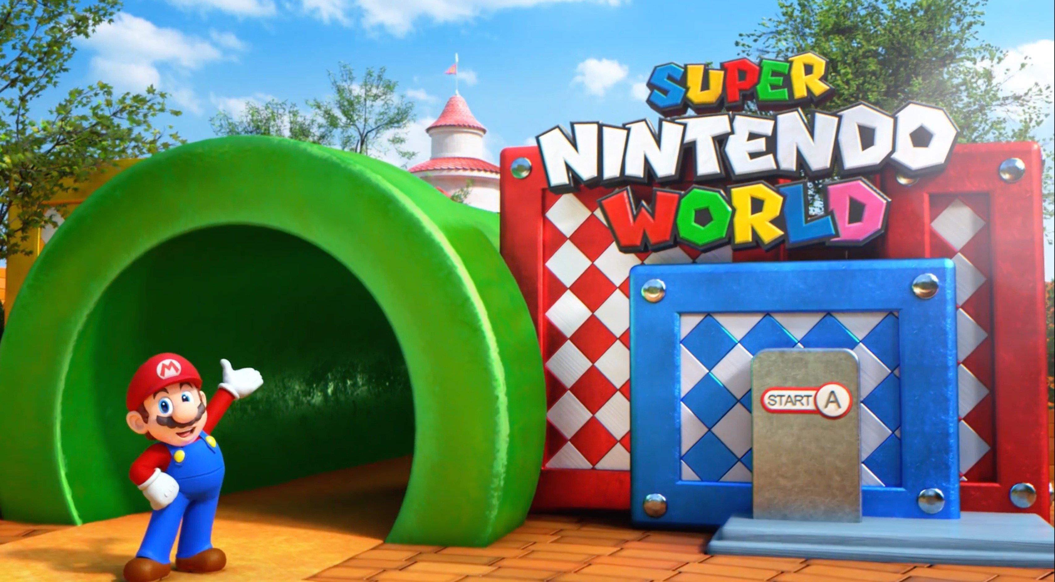 Il possibile ingresso al parco divertimenti Super Nintendo World