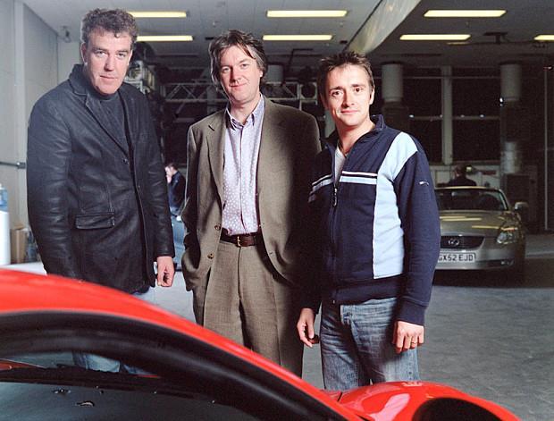 Il cast di presentatori di Top Gear