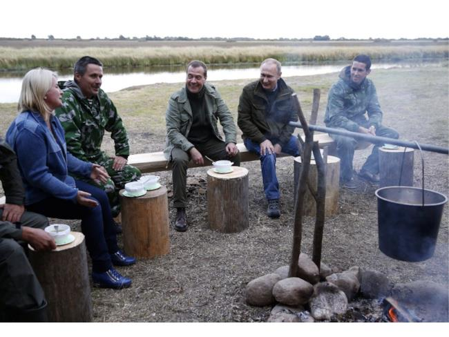 Putin in gruppo