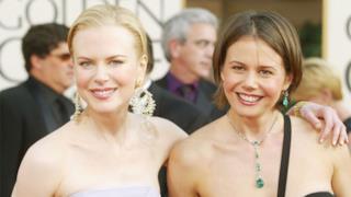 Nicole Kidman con sua sorella