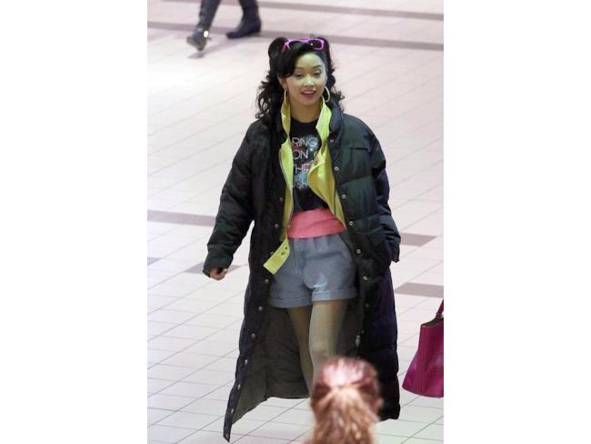 Foto rubata di Lana Condor dal set di X-Men: Apocalypse