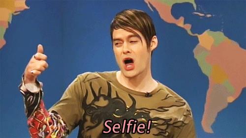 GIF selfie