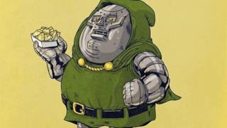 Dottor Destino in versione obesa
