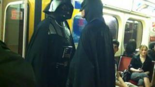 Darth Vader e Batman