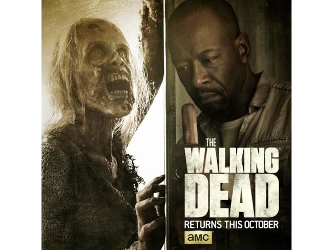 Poster di The Walking Dead con Morgan Jones