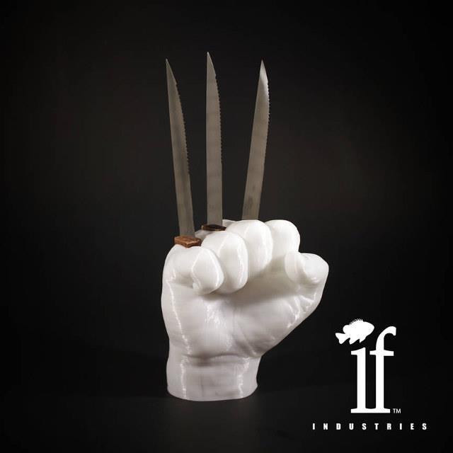 Il ceppo portacoltelli di Wolverine