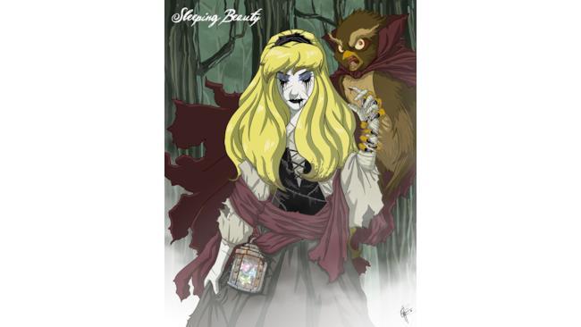 Aurora in versione Horror