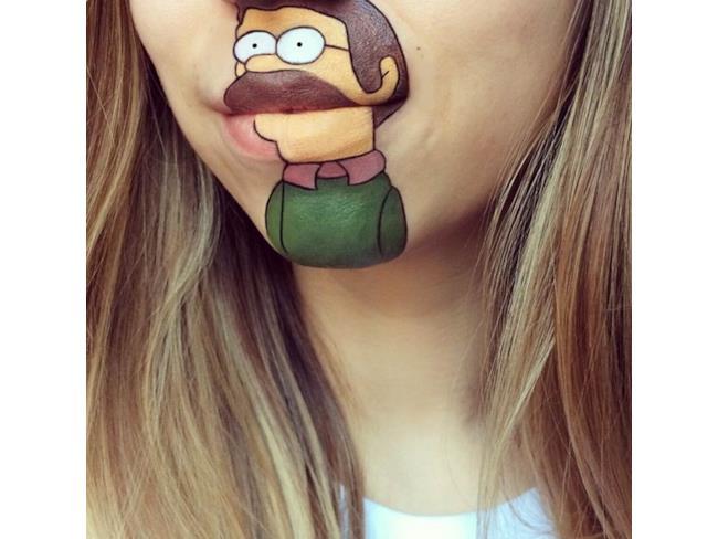 Ned Flanders Make Up