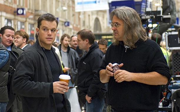 Matt Damon col regista Paul Greengrass