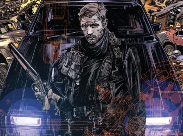 Copertina del fumetto Mad Max: Fury Road
