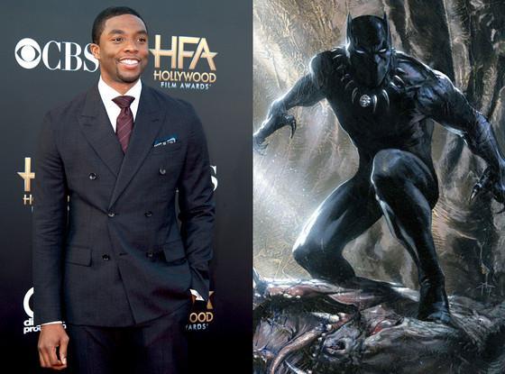 Chadwick Boseman sarà Black Panther nell'universo cinematografico Marvel
