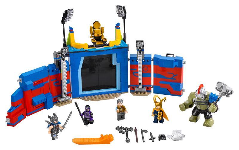 Ecco la prima immagine ufficiale del set Lego ispirato a Thor Ragnarok