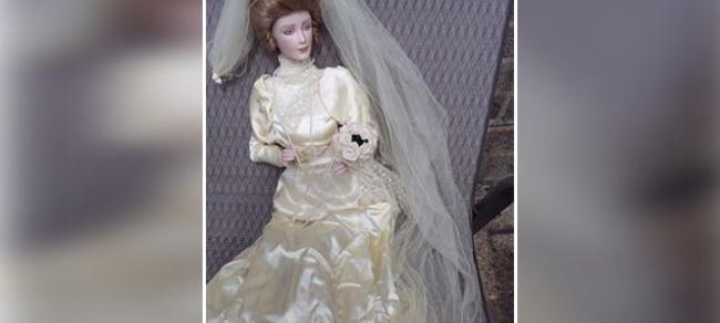 La bambola in vedita su eBay