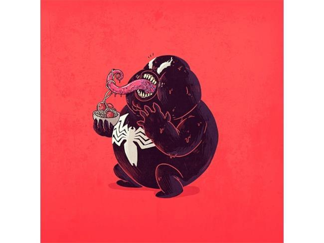 Venom in versione obesa