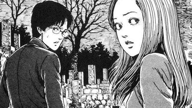 I protagonisti del manga horror Uzumaki