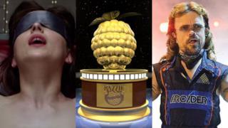 Cinquanta Sfumature di Grigio e Pixels nominate per i Razzie Awards 2016