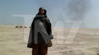 Foto di un abitante di Tatooine